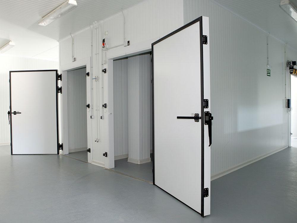Chiiler and freezer rooms